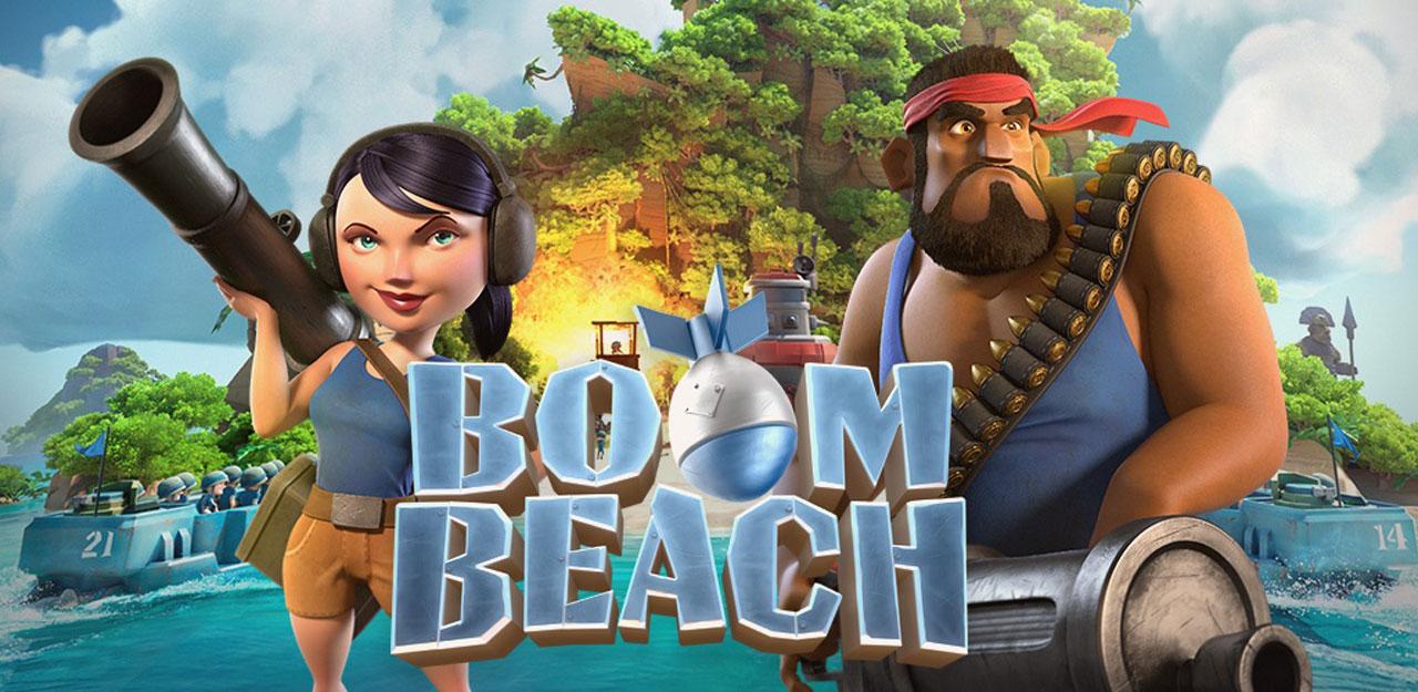 بوم بیچ - Boom Beach
