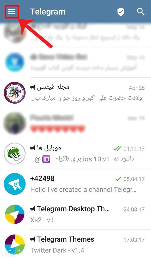 add bio on telegram