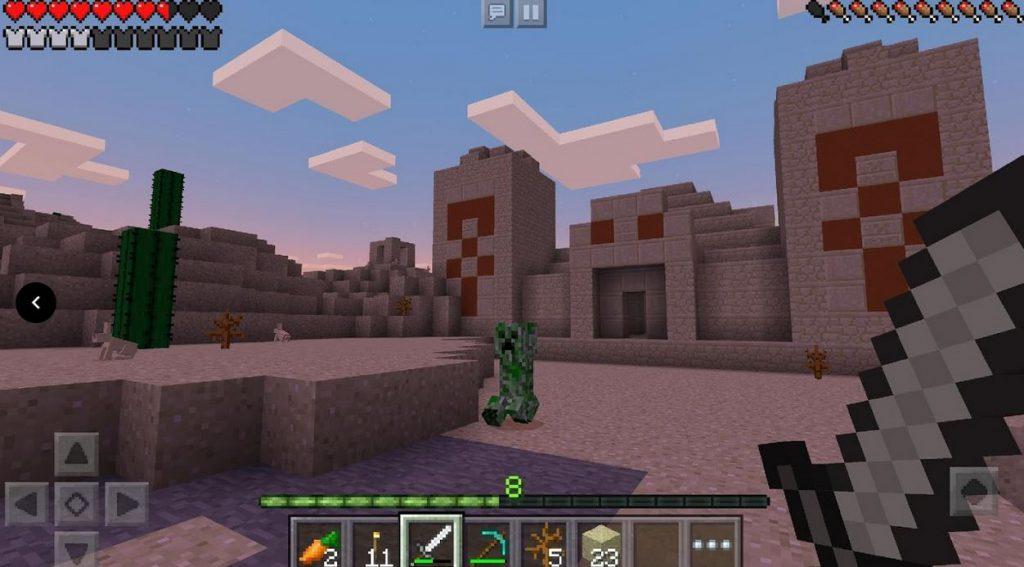minecraft 11004  دانلود نسخه جدید بازی ماین کرافت برای